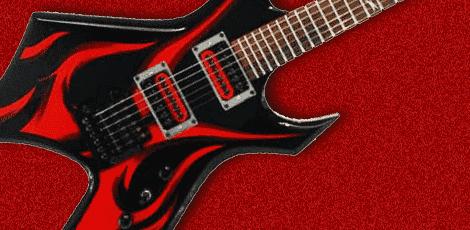 B.C.リッチのギターの画像