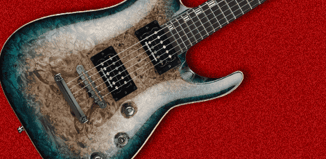 espのギターの画像