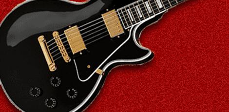 ギブソンのギターの画像