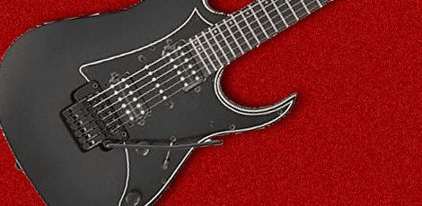 アイバニーズのギターの画像