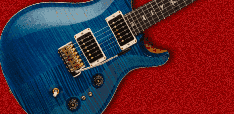 prsのギターの画像