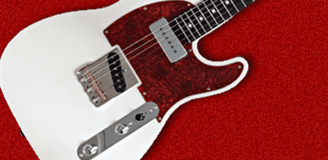 サイケデリズムのギターの画像