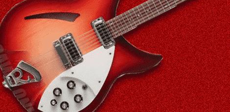 のギターの画像