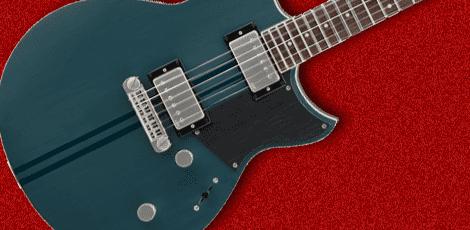 ヤマハのギターの画像